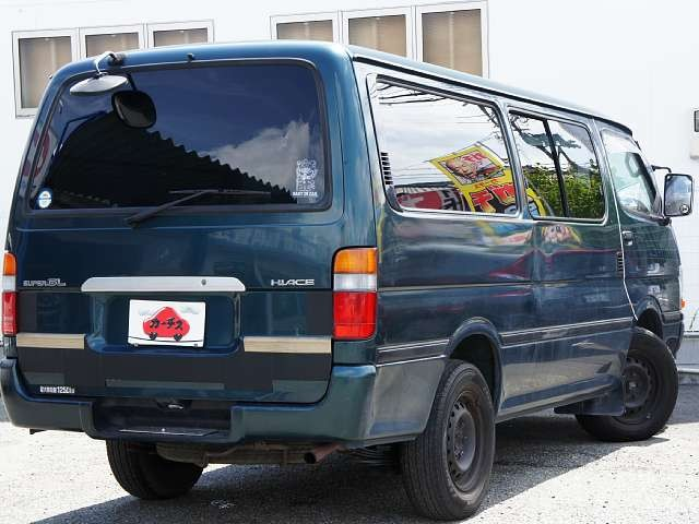 Used 2003 AT Toyota Hiace Van GE-RZH112V Image[2]