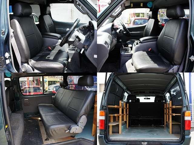Used 2003 AT Toyota Hiace Van GE-RZH112V Image[6]