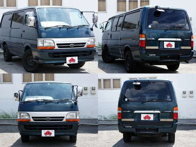 Used 2003 AT Toyota Hiace Van GE-RZH112V Image[7]