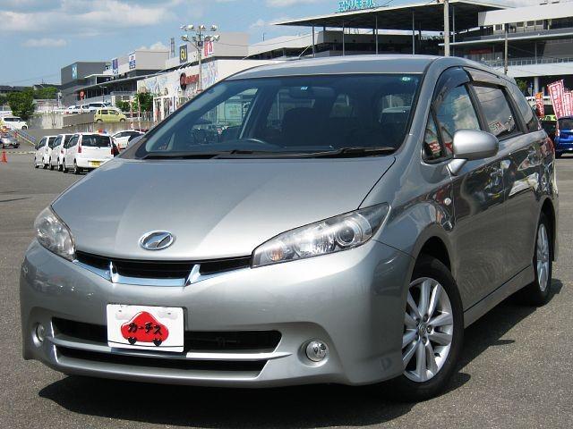 Used 2009 CVT Toyota Wish DBA-ZGE20W