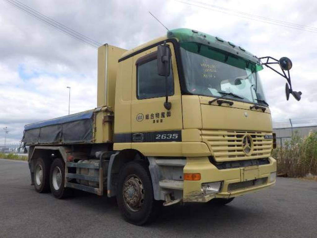 Used 2004  Mercedes Benz ACTROS フメイ