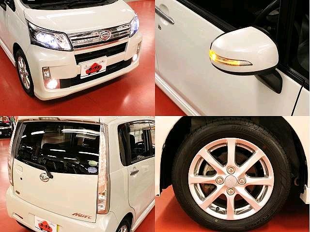 Used 2013 CVT Daihatsu Move DBA-LA100S Image[8]