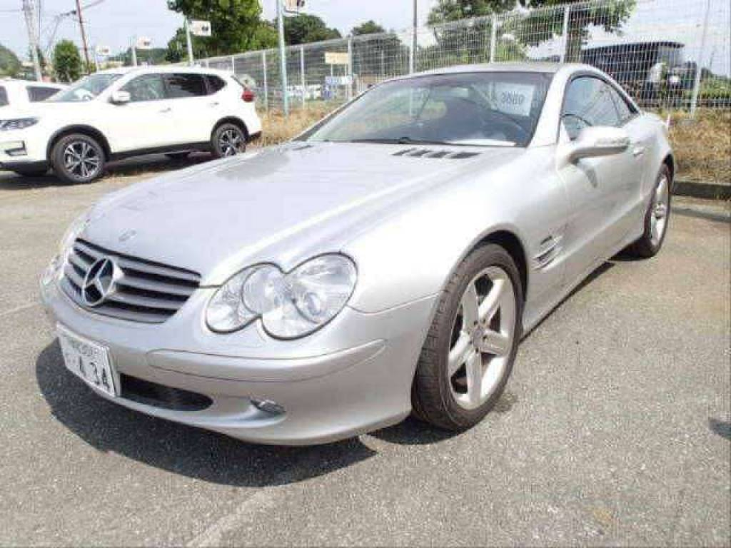 Used 2002 AT Mercedes Benz SL-Class 230475