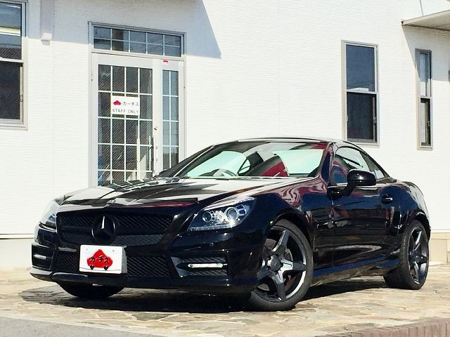 Used 2011 AT Mercedes Benz SLK Class DBA-172448