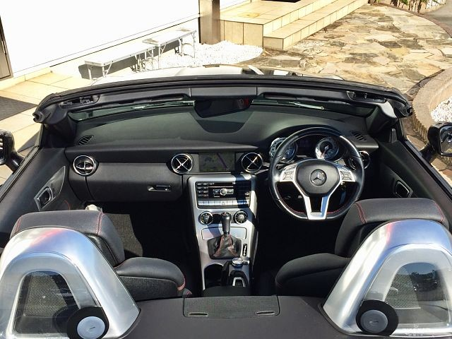 Used 2011 AT Mercedes Benz SLK Class DBA-172448 Image[1]