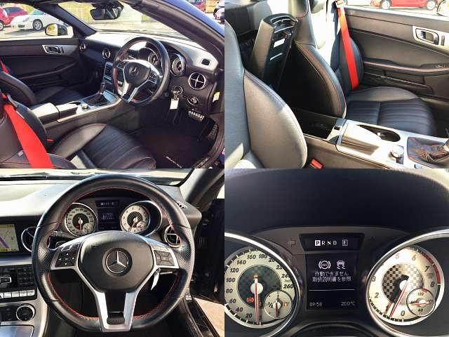 Used 2011 AT Mercedes Benz SLK Class DBA-172448 Image[8]