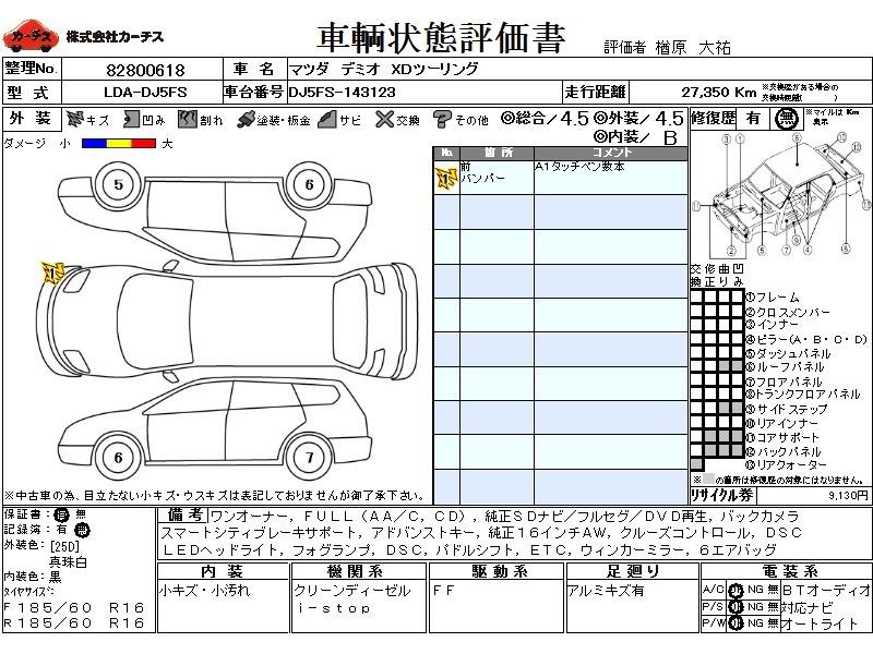 Used 2015 AT Mazda Demio LDA-DJ5FS Image[3]