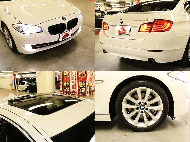 Used 2012 AT BMW 5 Series DAA-FZ35 Image[8]