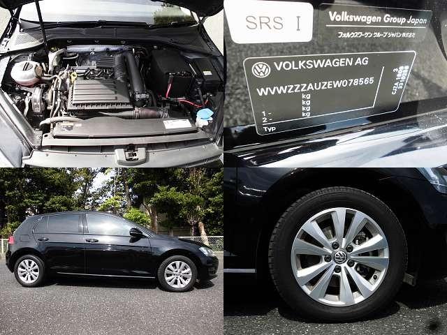 Used 2013 AT Volkswagen Golf DBA-AUCJZ Image[8]