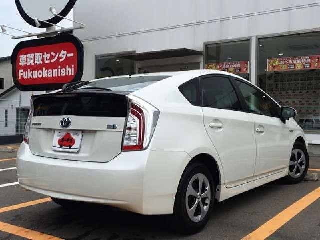 Used 2013 CVT Toyota Prius DAA-ZVW30 Image[2]