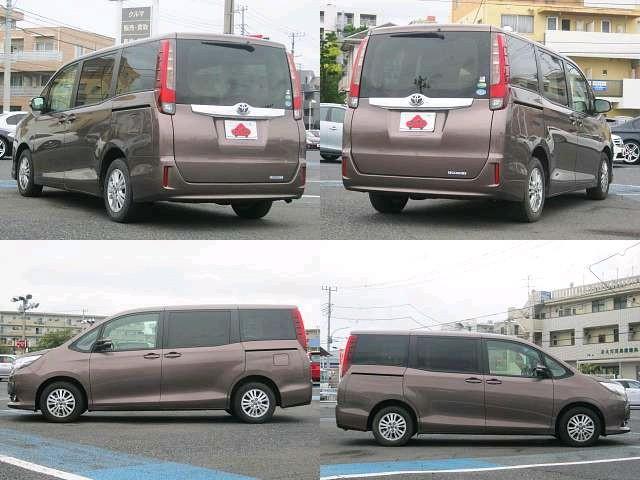 Used 2014 CVT Toyota Noah DBA-ZRR80G Image[9]