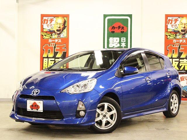Used 2013 CVT Toyota Aqua DAA-NHP10