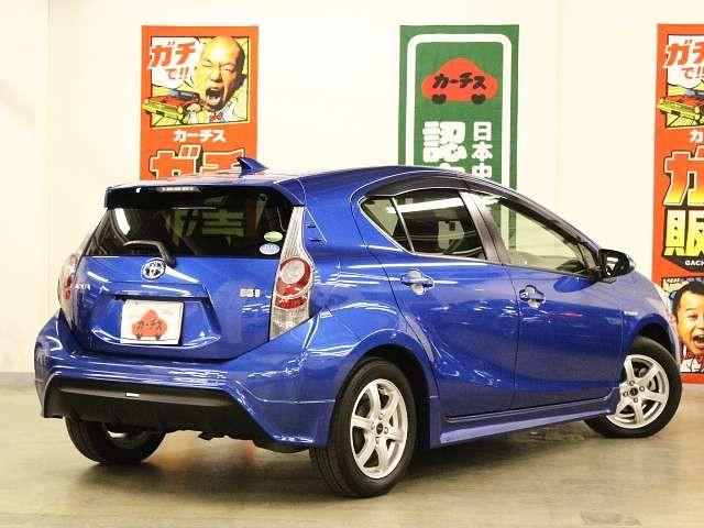 Used 2013 CVT Toyota Aqua DAA-NHP10 Image[2]