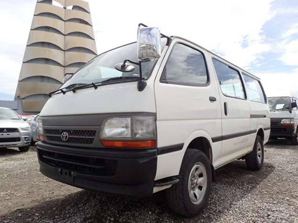Used 2001 MT Toyota Hiace Van LH178V