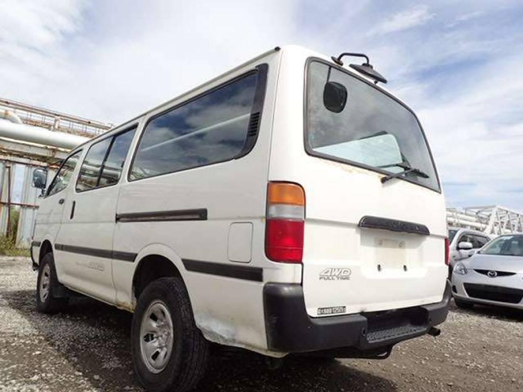 Used 2001 MT Toyota Hiace Van LH178V Image[2]