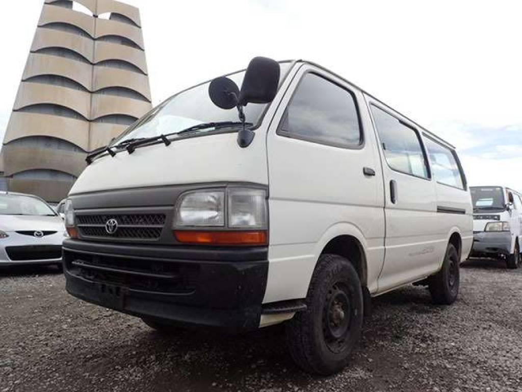Used 2002 MT Toyota Hiace Van LH178V