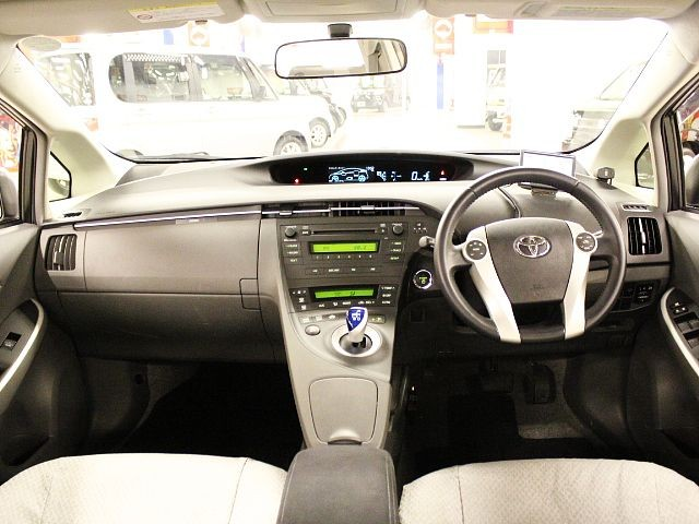 Used 2011 CVT Toyota Prius DAA-ZVW30 Image[1]