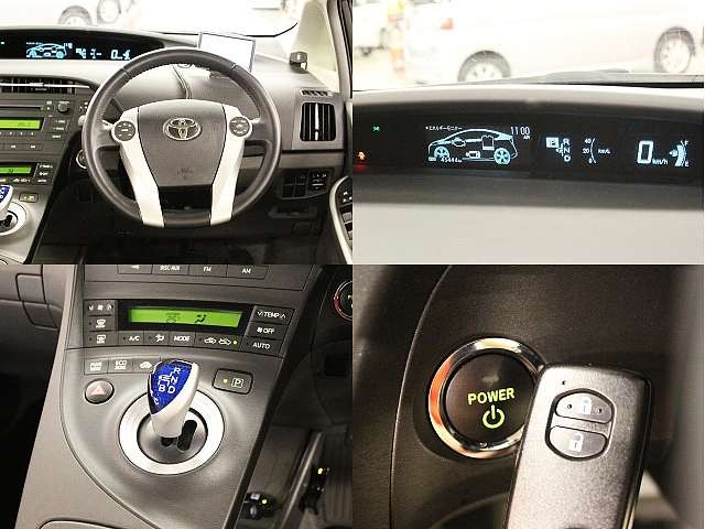 Used 2011 CVT Toyota Prius DAA-ZVW30 Image[4]