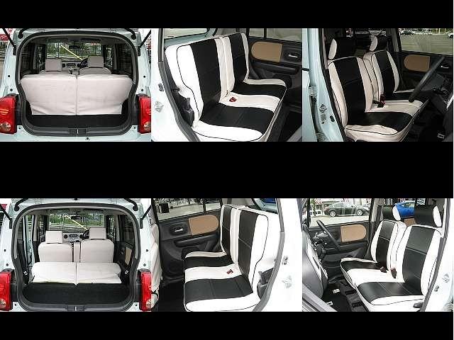 Used 2011 CVT Suzuki ALTO Lapin DBA-HE22S Image[6]