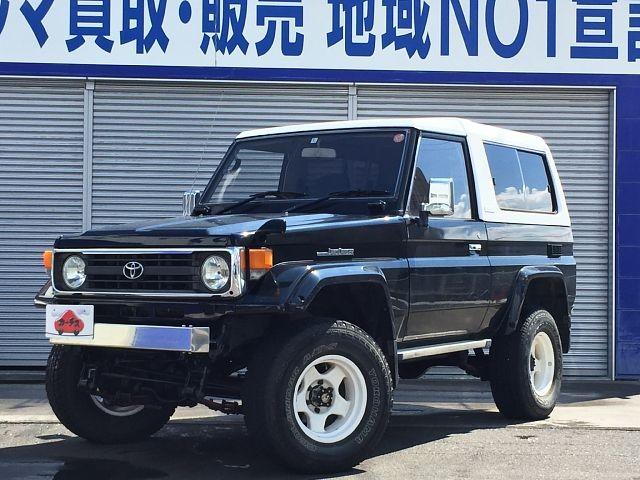 Used 1997 MT Toyota Land Cruiser KC-HZJ73HV改