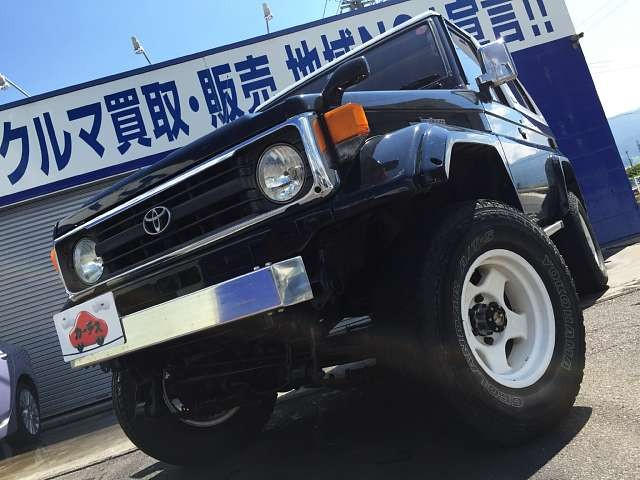 Used 1997 MT Toyota Land Cruiser KC-HZJ73HV改 Image[9]