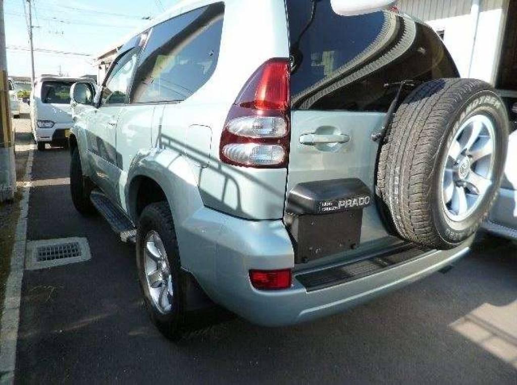 Used 2003 AT Toyota Land Cruiser Prado LA-RZJ125W Image[3]