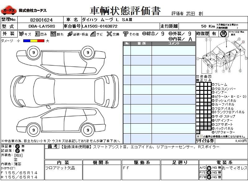 Used 2018 CVT Daihatsu Move DBA-LA150S Image[3]