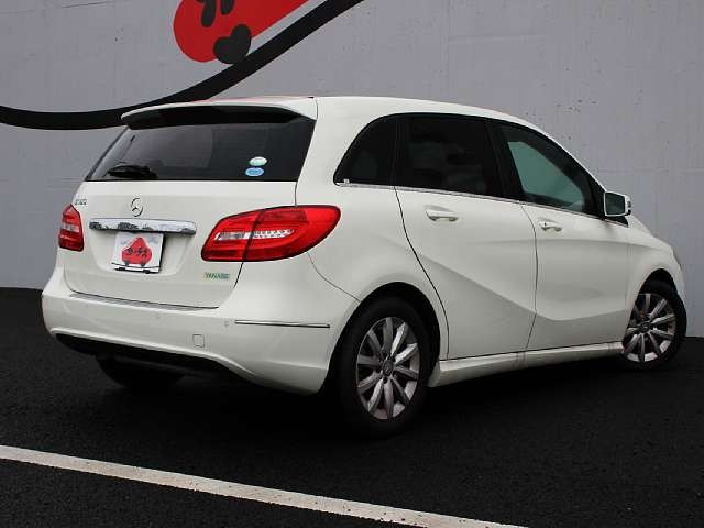 Used 2013 AT Mercedes Benz B-Class DBA-246242 Image[2]