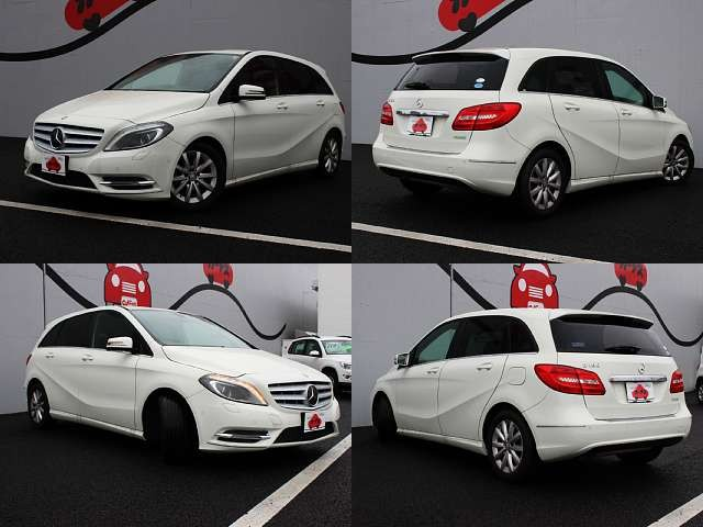 Used 2013 AT Mercedes Benz B-Class DBA-246242 Image[8]