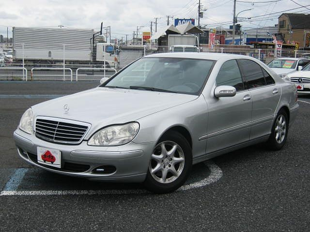 Used 2004 AT Mercedes Benz S-Class GH-220067