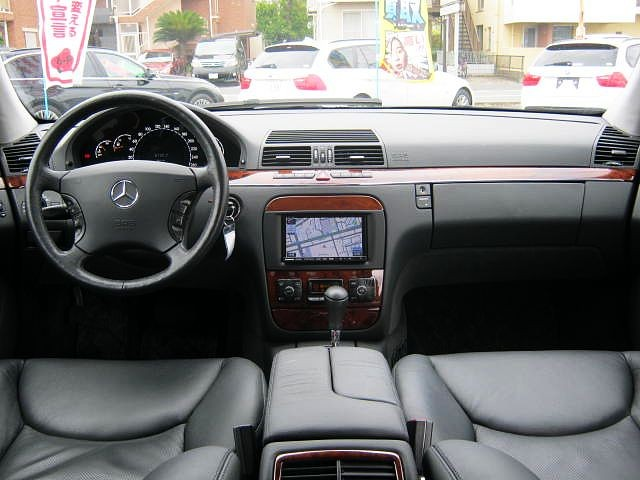 Used 2004 AT Mercedes Benz S-Class GH-220067 Image[1]