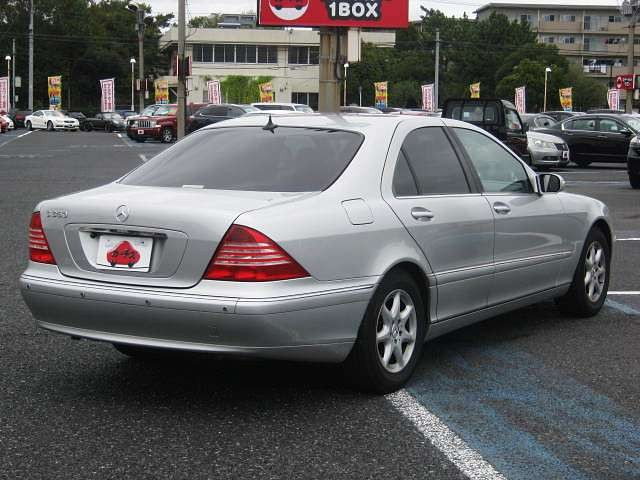 Used 2004 AT Mercedes Benz S-Class GH-220067 Image[2]