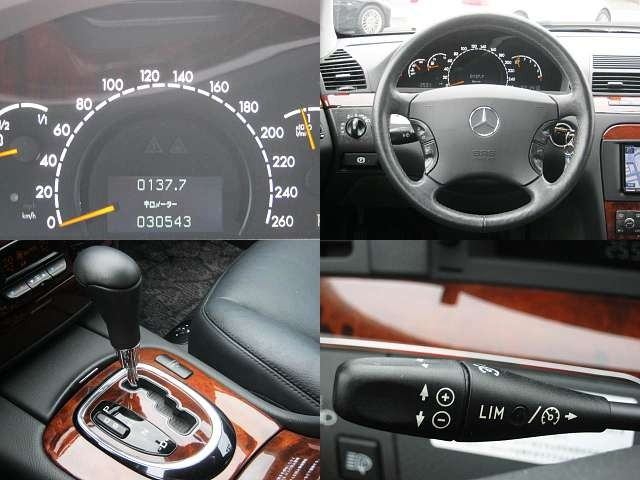 Used 2004 AT Mercedes Benz S-Class GH-220067 Image[4]