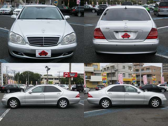 Used 2004 AT Mercedes Benz S-Class GH-220067 Image[8]