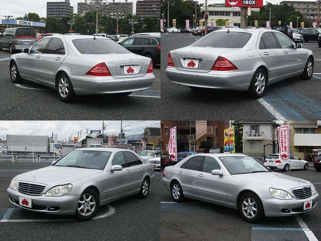 Used 2004 AT Mercedes Benz S-Class GH-220067 Image[9]