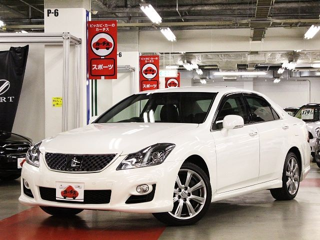 Used 2009 AT Toyota Crown DBA-GRS204