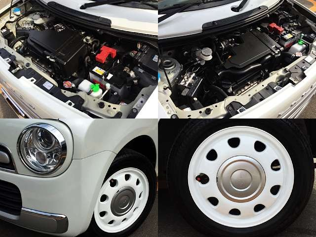 Used 2014 AT Suzuki ALTO Lapin DBA-HE22S Image[7]