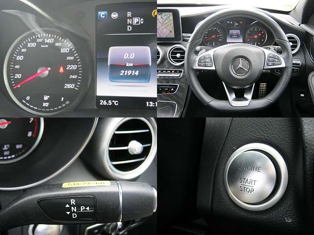 Used 2014 AT Mercedes Benz C-Class RBA-205042 Image[4]