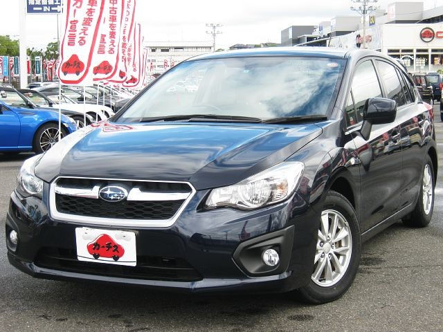 Used 2013 CVT Subaru Impreza DBA-GP2