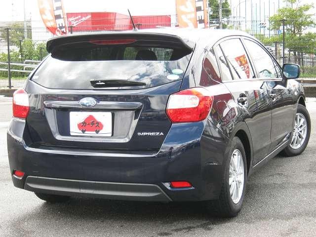 Used 2013 CVT Subaru Impreza DBA-GP2 Image[2]