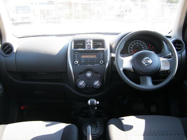 Used 2015 CVT Nissan March DBA-K13 Image[1]