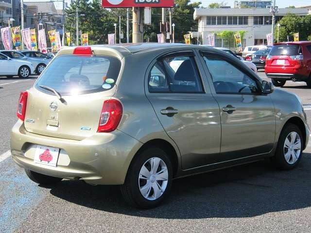 Used 2015 CVT Nissan March DBA-K13 Image[2]