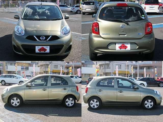 Used 2015 CVT Nissan March DBA-K13 Image[8]
