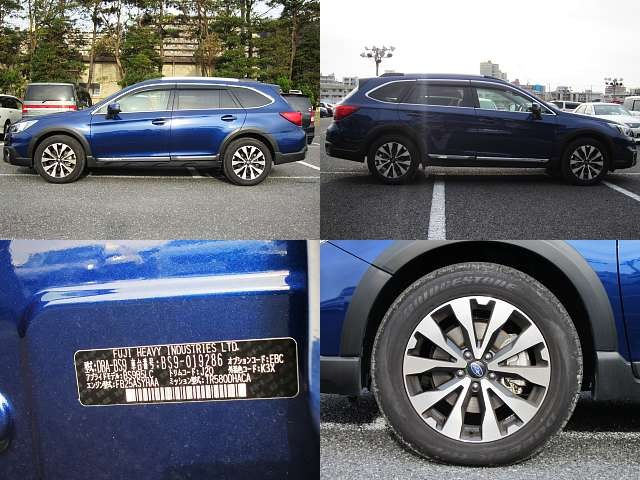 Used 2016 CVT Subaru Outback DBA-BS9 Image[8]