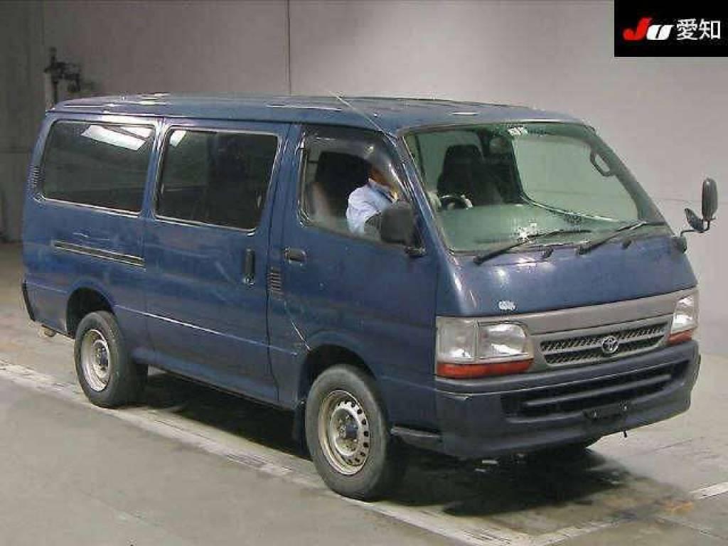 Used 2003 MT Toyota Hiace Van RZH112V