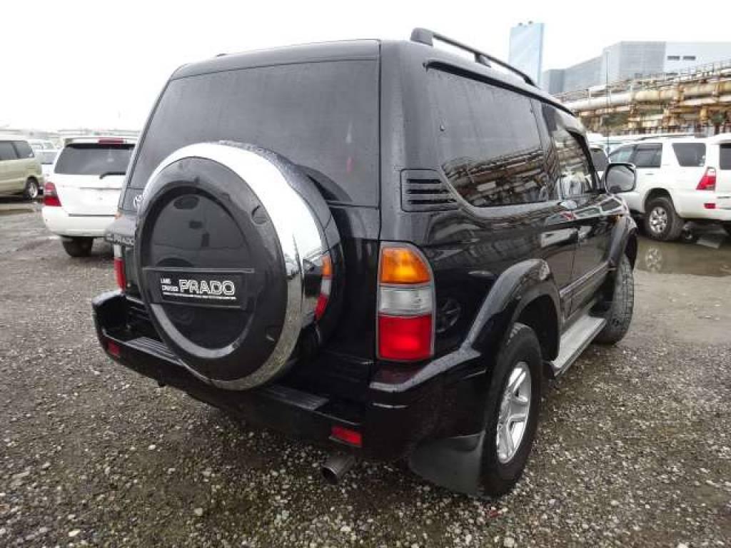 Used 1997 AT Toyota Land Cruiser Prado RZJ90W Image[2]