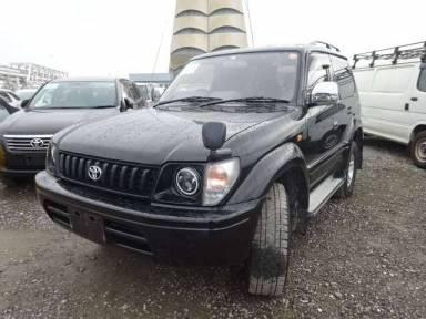 Toyota Land Cruiser Prado 1997 from Japan