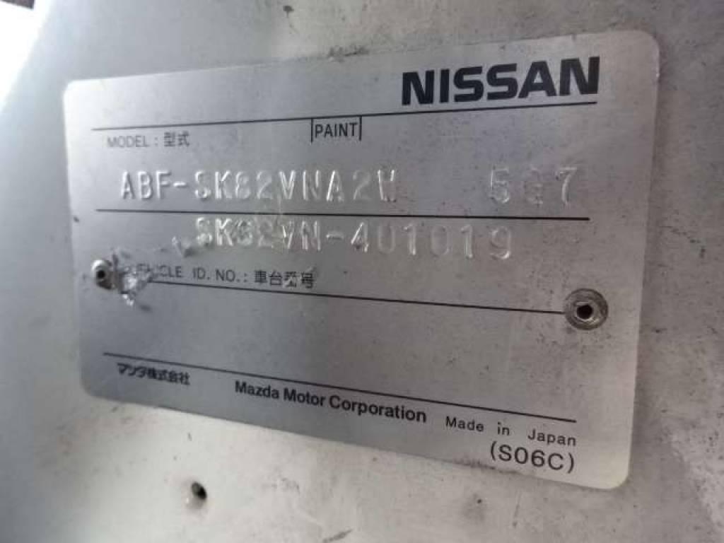 Used 2007 MT Nissan Vanette Van SK82VN Image[5]