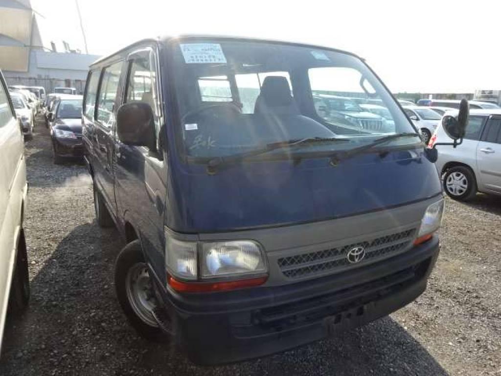Used 2002 MT Toyota Hiace Van RZH102V Image[1]