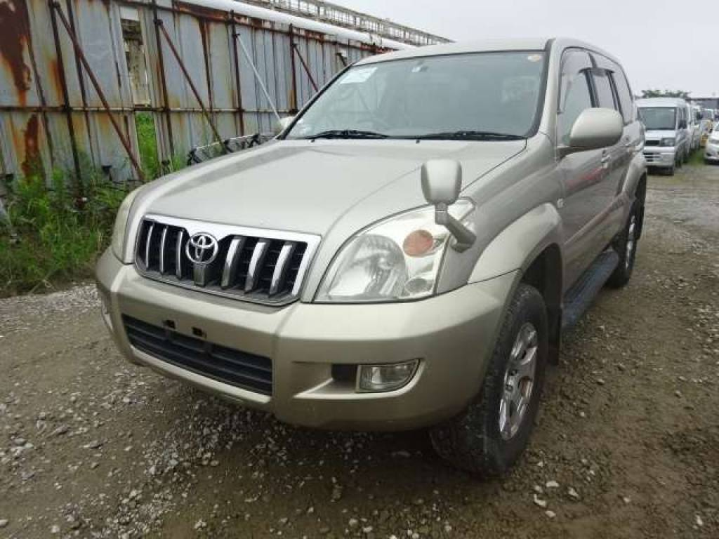 Used 2004 AT Toyota Land Cruiser Prado RZJ120W Image[1]
